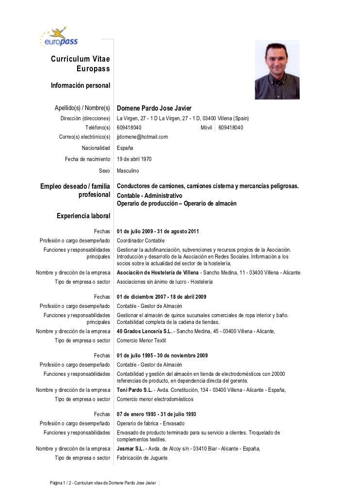 Redacci n de curriculum vitae ejemplo. test.spectrum.co.in
