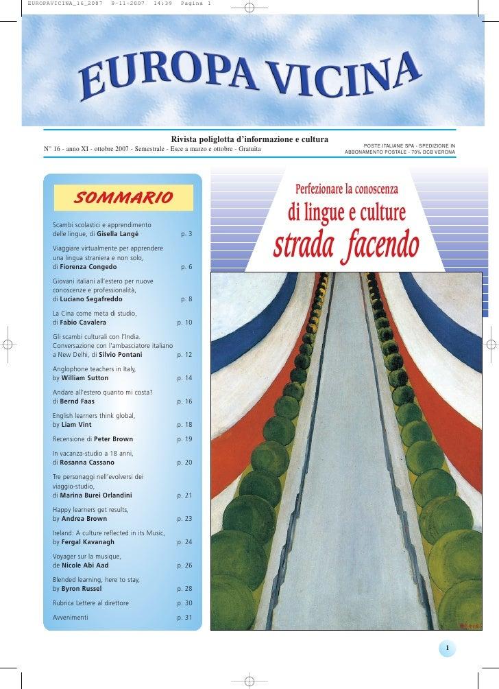 Rivista poliglotta d'informazione e cultura                                                                               ...