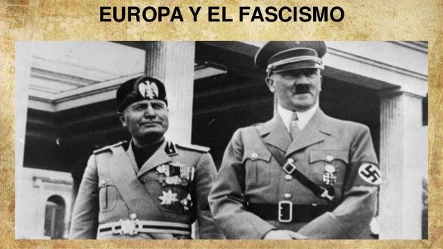 EUROPA Y EL FASCISMO