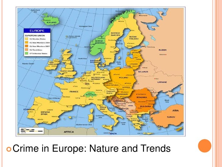 Crime in Europe: Nature and Trends<br />