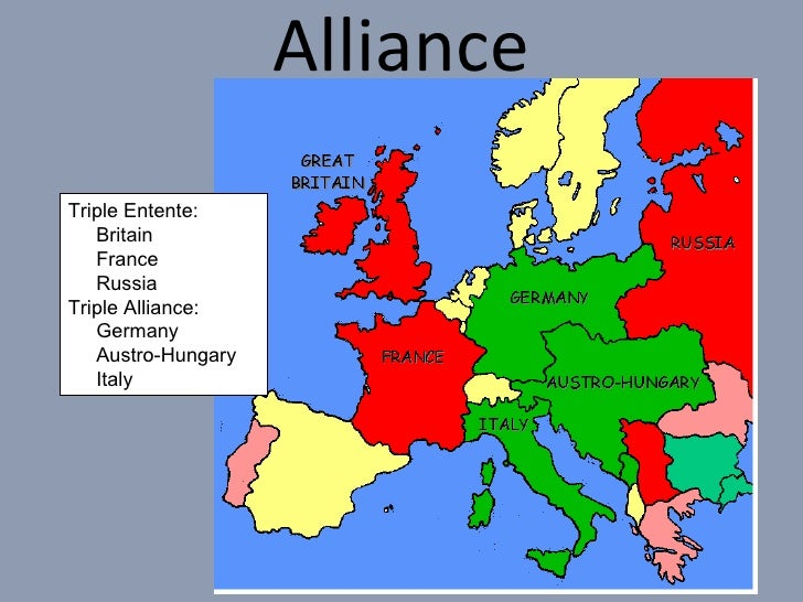 an introduction to the great alliance in europe germany austria hungary and italy The dual alliance germany and austria-hungary made an  a new europe that left both germany and italy as  wilson world war one – causes.