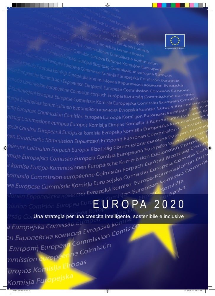Europe 2020   It Version