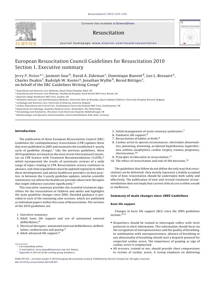 European resuscitation-council-guidelines-for-resuscitation-2010-section-1-executive-summary