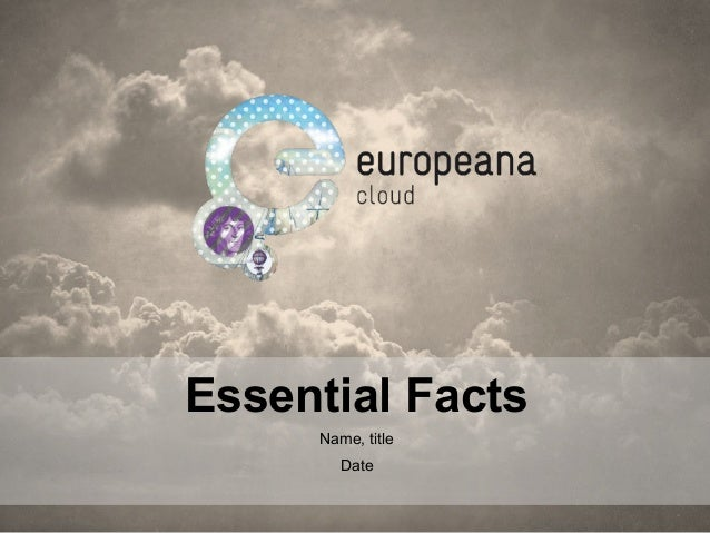 Essential Facts Name, title Date
