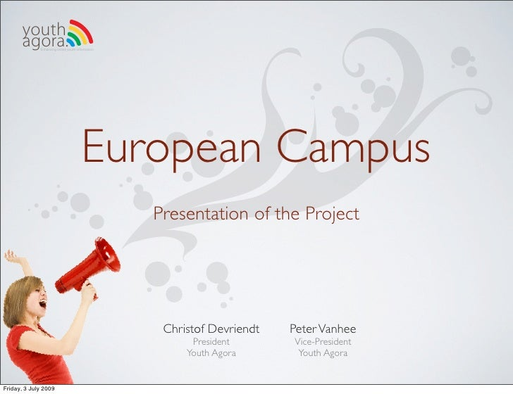 youth        agora.Enhancing online youth information                                            European Campus          ...