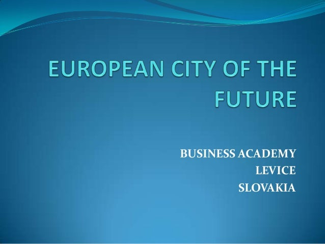 European city of the future