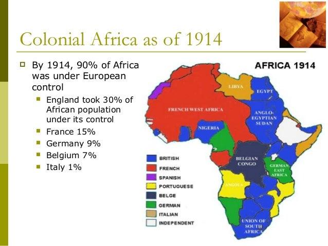 european colonization on africa essay