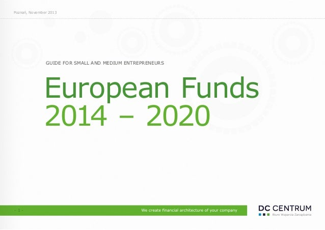 European Funds - Guide for SME