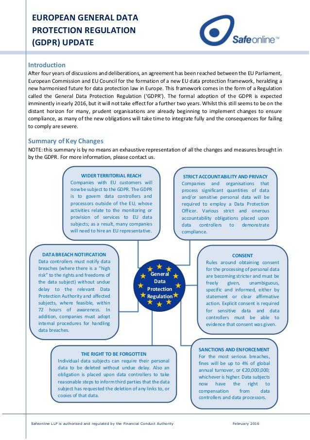 general data protection regulation pdf 2016