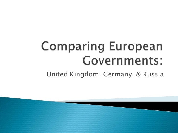 Comparing European Governments:<br />United Kingdom, Germany, & Russia<br />