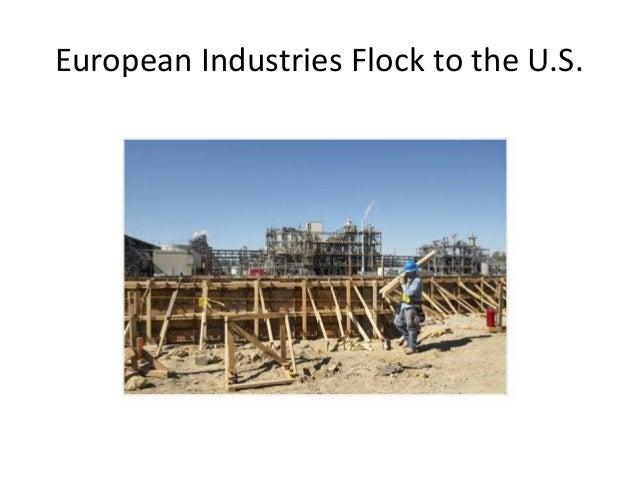 European industries go to the usa