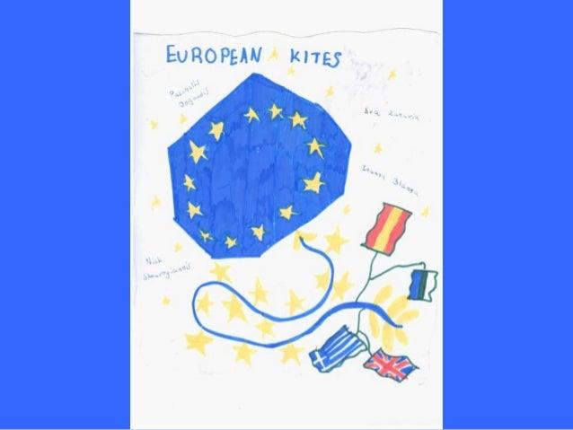 European Kites, by E3 class - 9th Primary School of Larissa