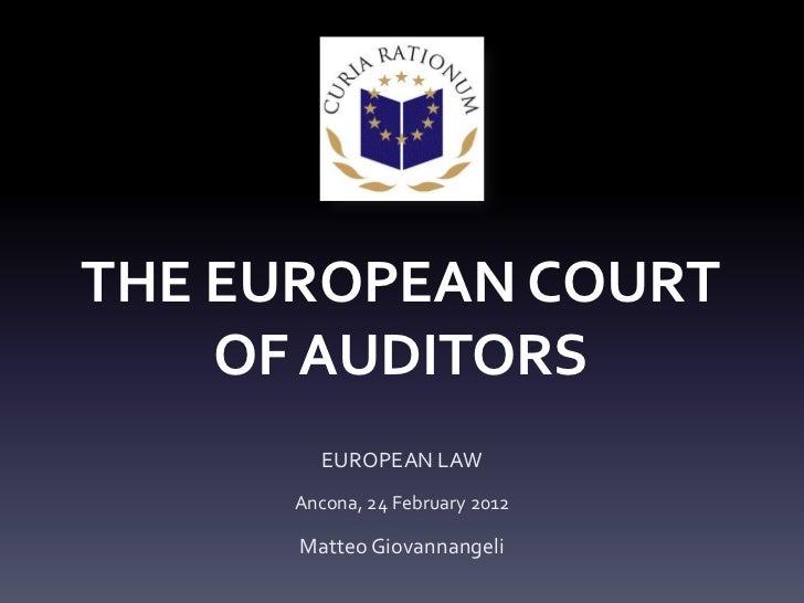 European law presentation