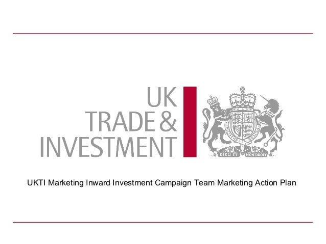 European marketing conference FDI campaign team presentation