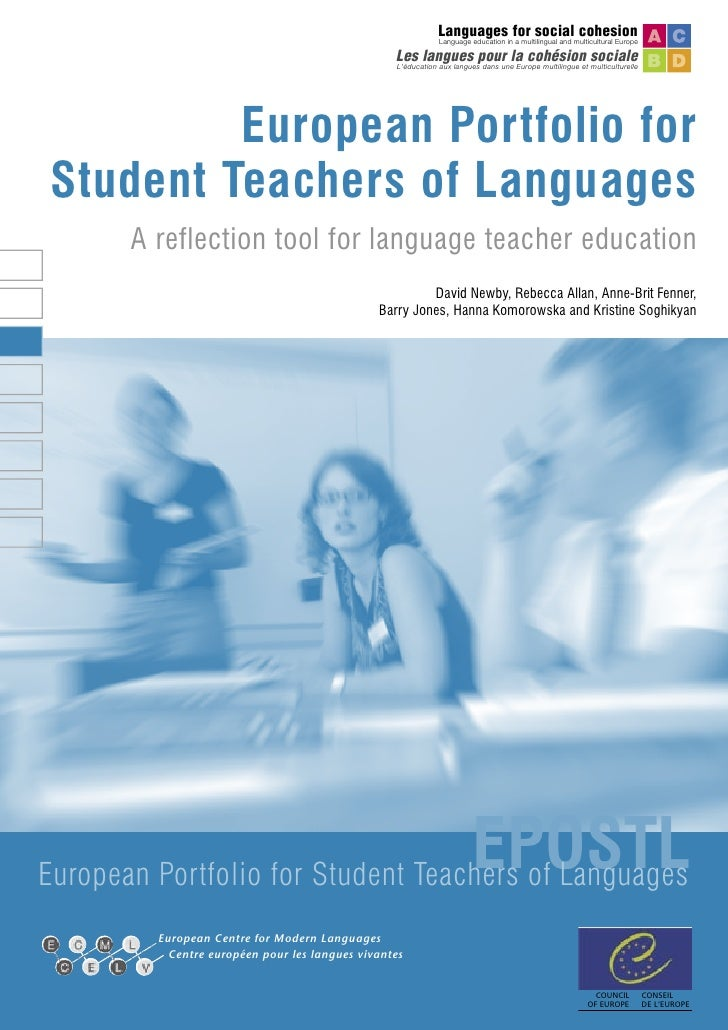 European Portfolio For Student Teachers Of Languages