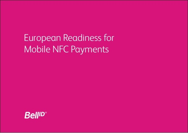 European Readiness for Mobile NFC Payments