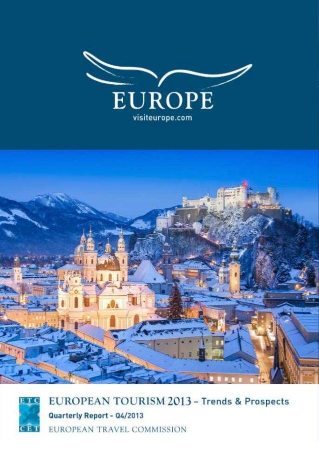 European tourism 2013