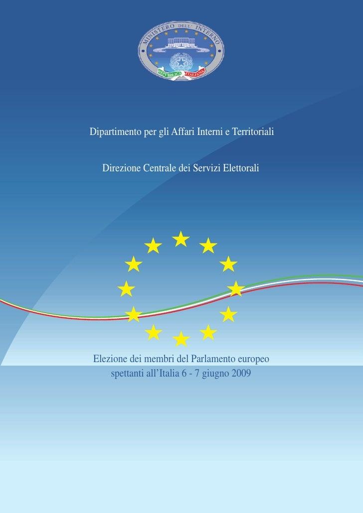 Elezioni Parlamento Europeo 2009