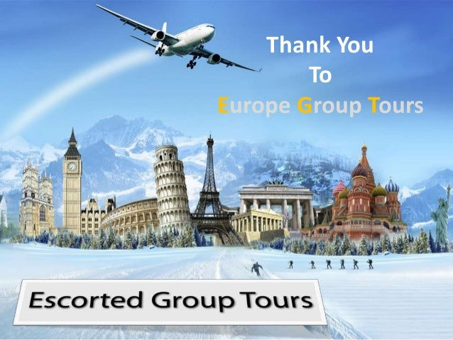 Thank YouToEurope Group Tours