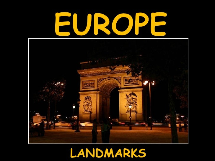 Europe - Landmarks
