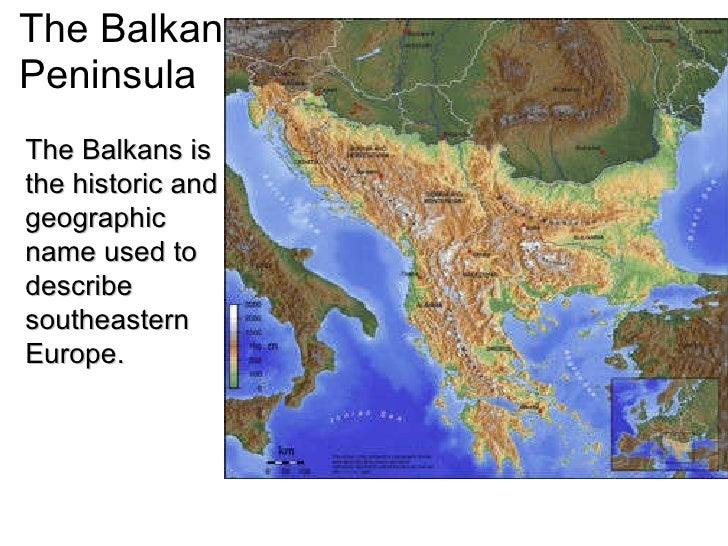 an analysis of the conflict on the balkan peninsula View balkan presentations identity and conflict in the balkans - the taste of a man settled around the balkan peninsula and the aegean sea.