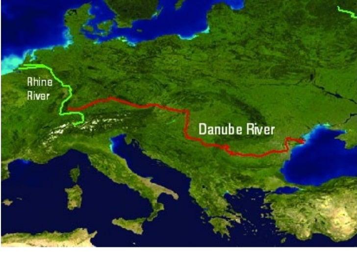 Где находится река дунай