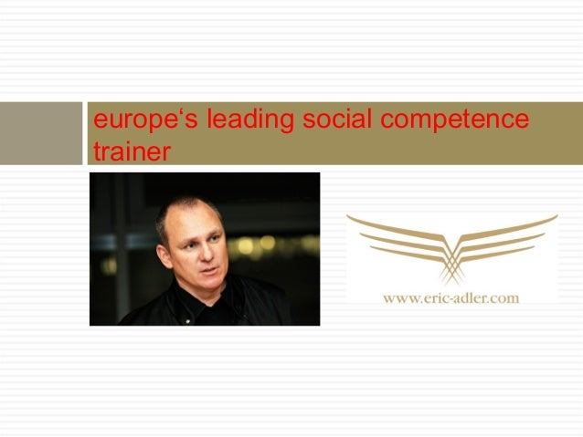europe's leading social competencetrainer