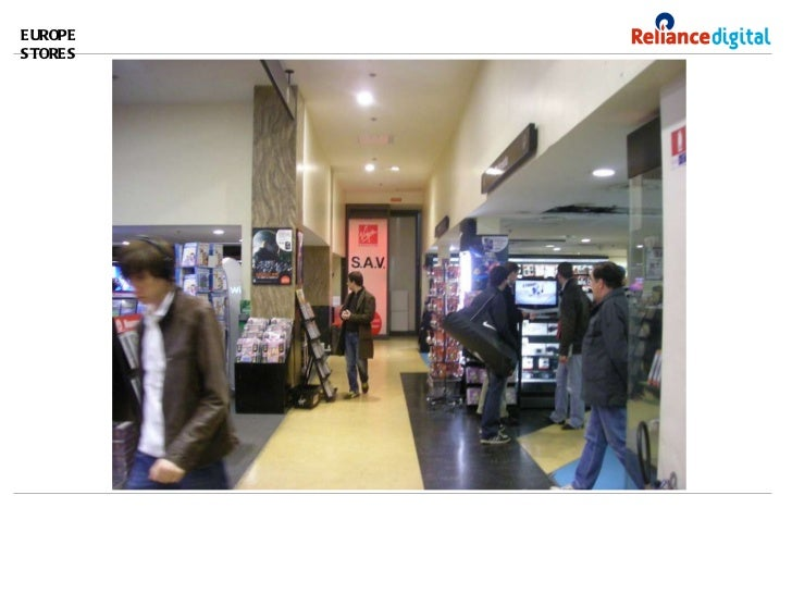 EUROPE STORES