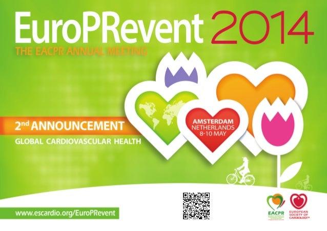 EuroPRevent 2014 - 8- 10 MAY 2014 - Amsterdam (NL)