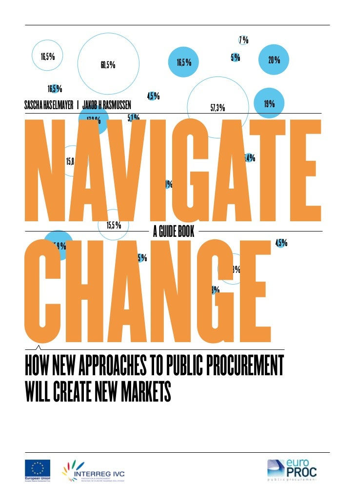 Navigate Change: How new approaches to public procurement will create new markets