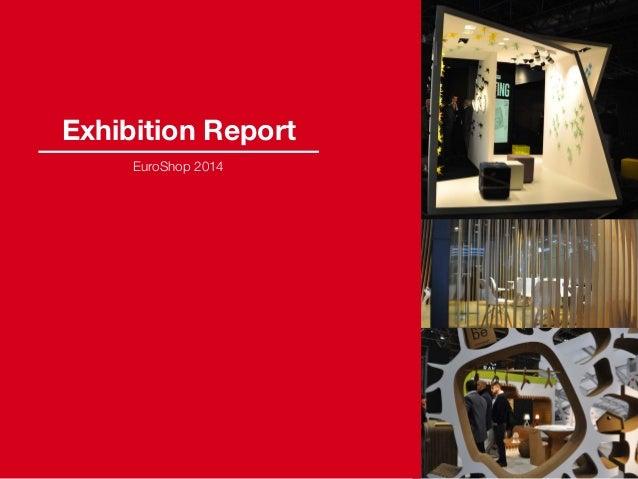 Exhibition Report EuroShop 2014