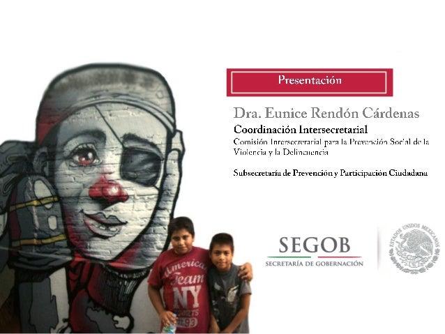 Prevención social de la violencia y la delincuencia en México
