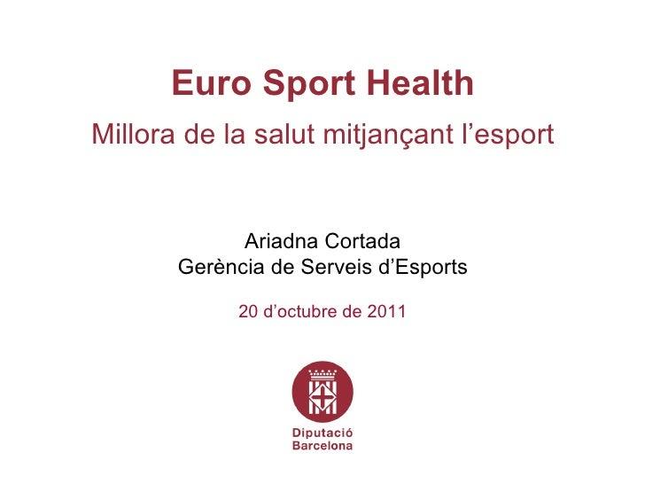 Euro Sport Health (language: Catalan)