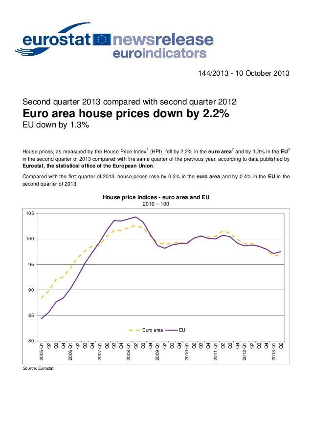 Eurostat 2q 2013