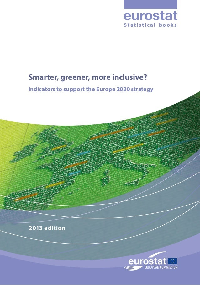 Eurostat book  smarter, greener, more inclusive indicators to support the europe 2020 strategy