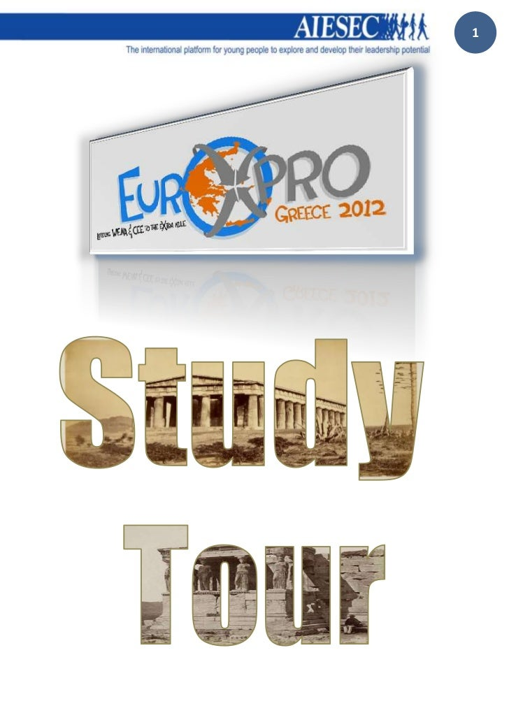 EuroXpro 2012 Official study tour booklet!