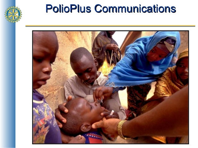 Polio PR / communication