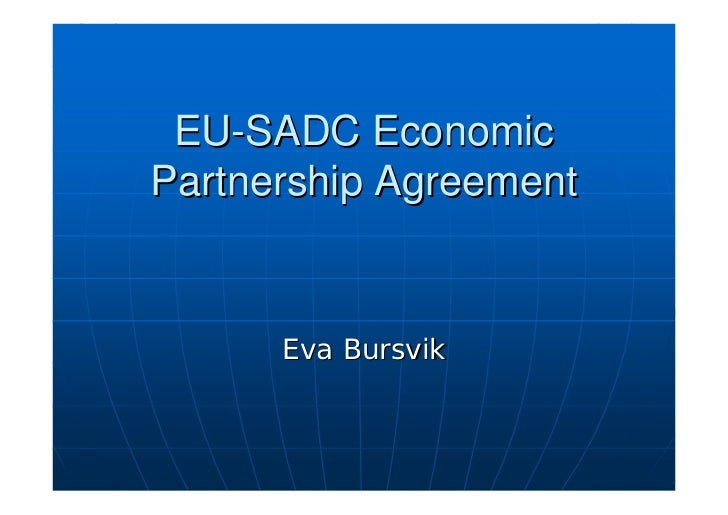 EU-SADC Economic Partnership Agreement