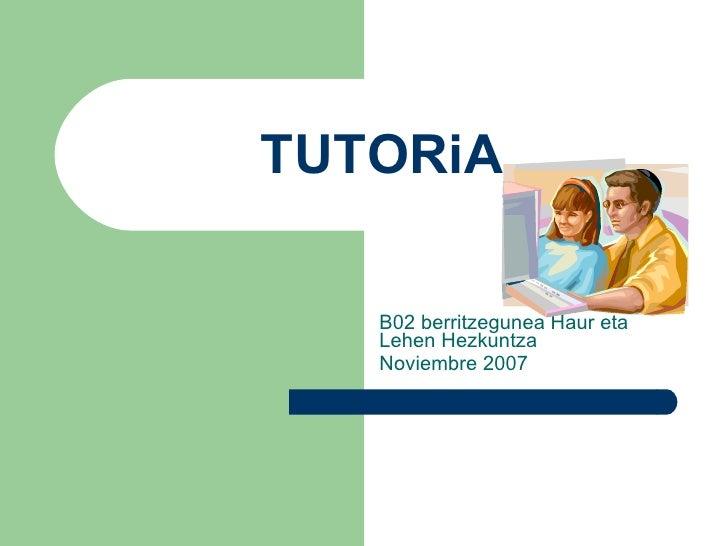Tutoretza