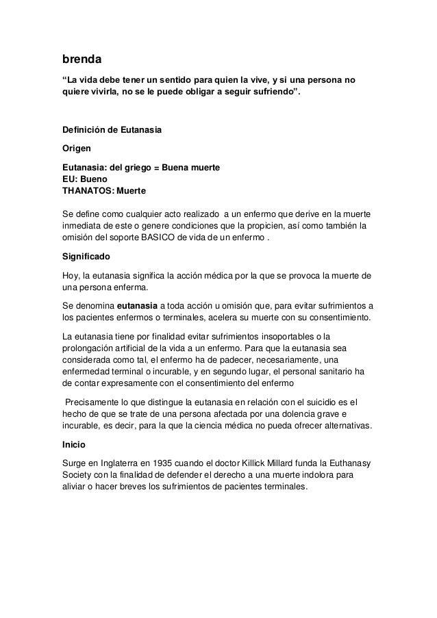 Eutanasia ordenada (1)