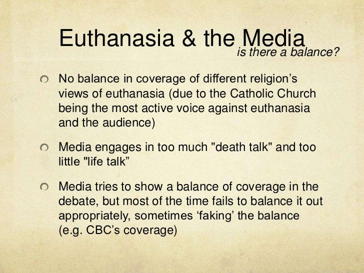 euthanasia debate opinion piece Basic arguments about euthanasia 2003 at a university of sydney debate, on the topic euthanasia public opinion polls euthanasia and media malpractice.