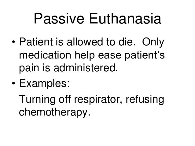 a description of the societys reaction on euthanasia Historical look at euthanasia physician-assisted suicide probably was practiced secretly or without much reaction from the the euthanasia society of.