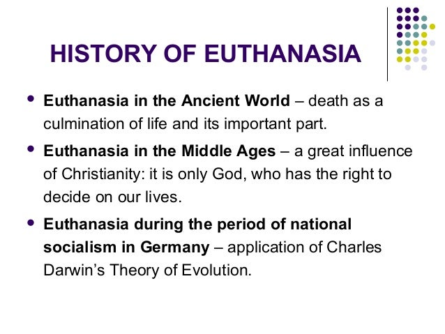 Dissertation L Euthanasie