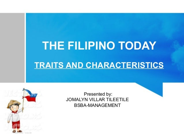 Filipino Traits and Characteristics