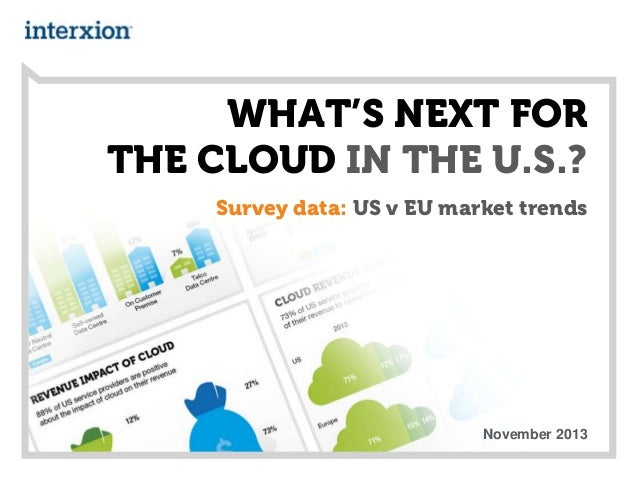 What's next for the cloud in the U.S.?