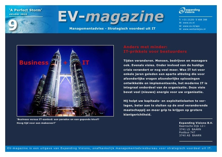 Ev magazine anders en minder