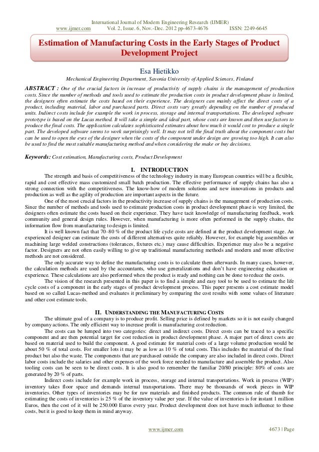 International Journal of Modern Engineering Research (IJMER)              www.ijmer.com           Vol. 2, Issue. 6, Nov.-D...