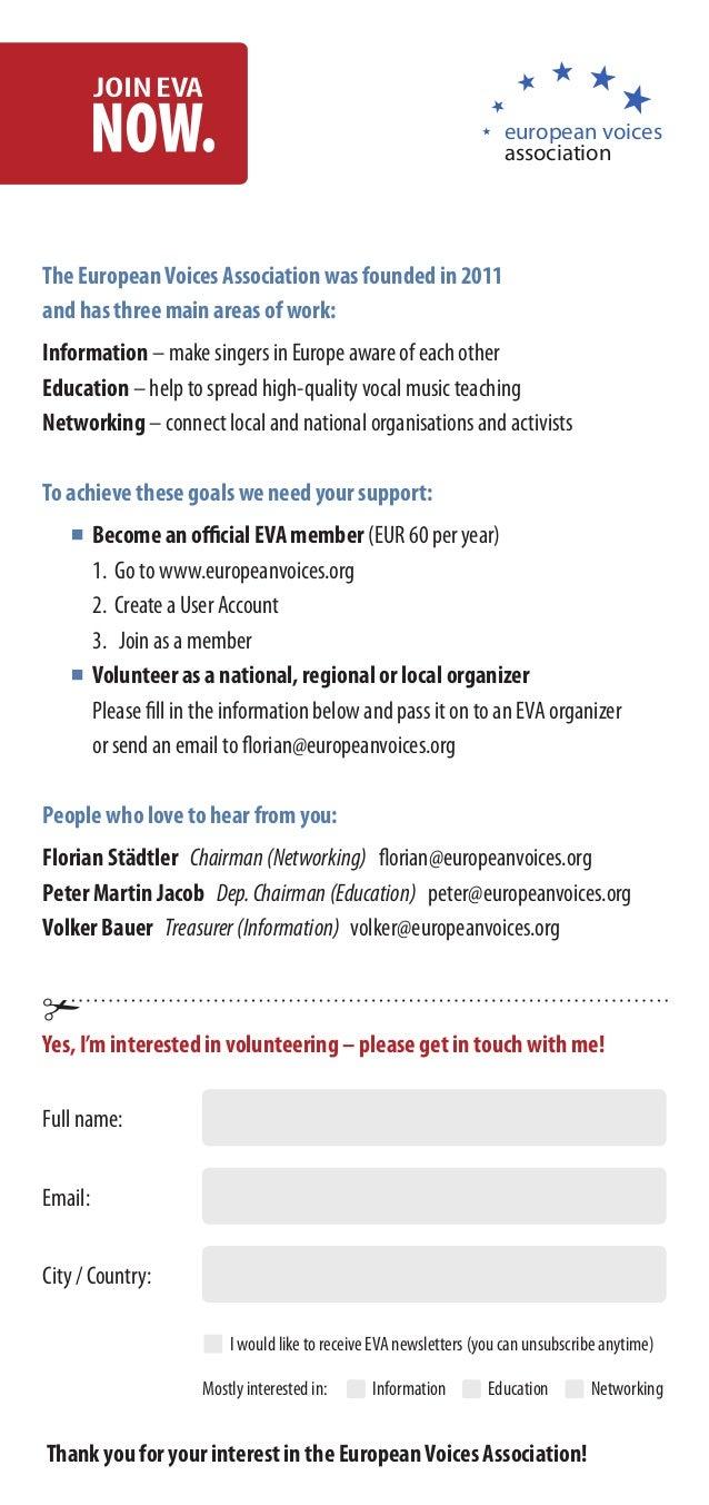 european voices                                                                    associationThe European Voices Associat...