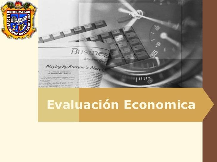 LOGO            Evaluación Economica