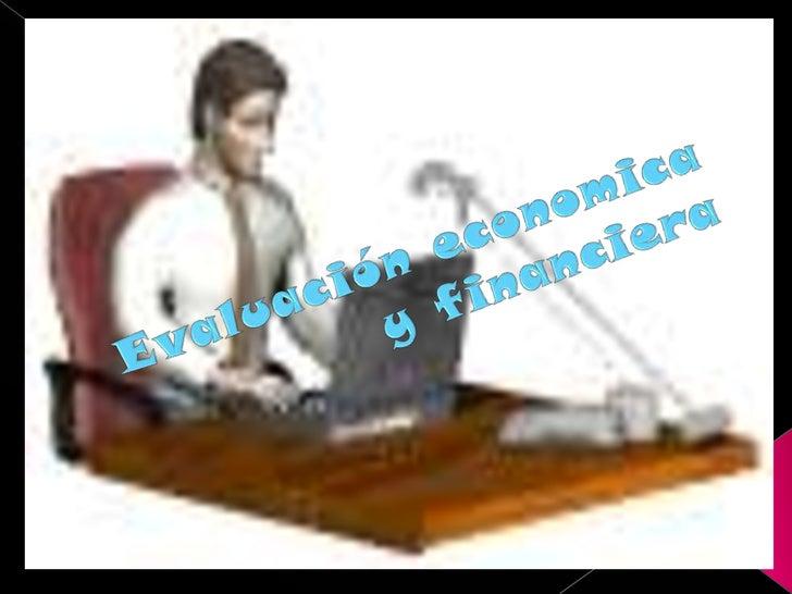 EvaluacióN Economica Y Financiera